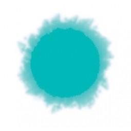 pintura para textil en spray azul turquesa ml